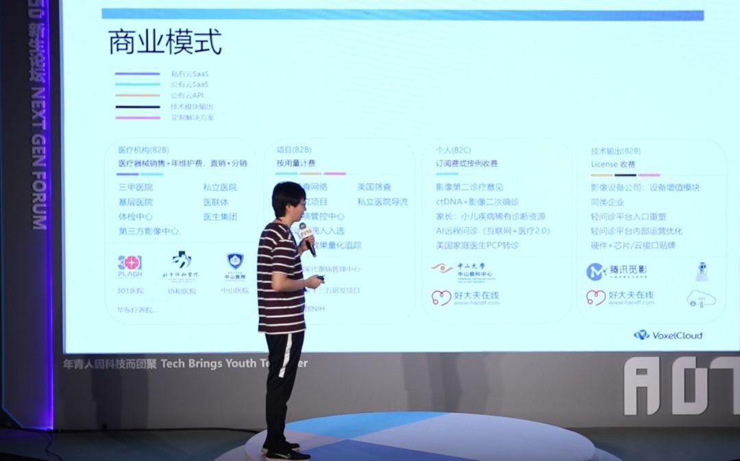 干货 | 体素科技:AI医疗的商业模式全在这里了【新生论坛回放】
